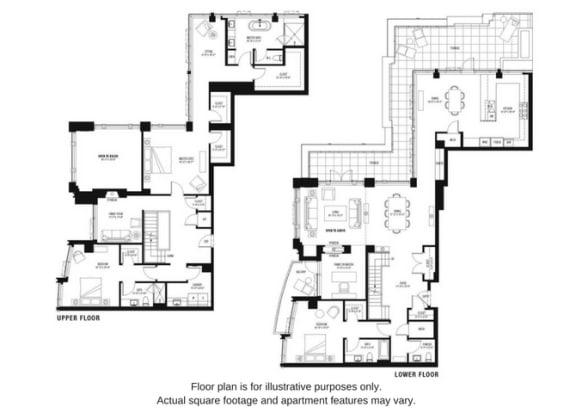 Floor plan at The Bravern, Bellevue