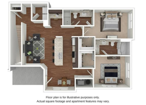 Floor Plan  B7 Floor Plan at Retreat at the Flatirons