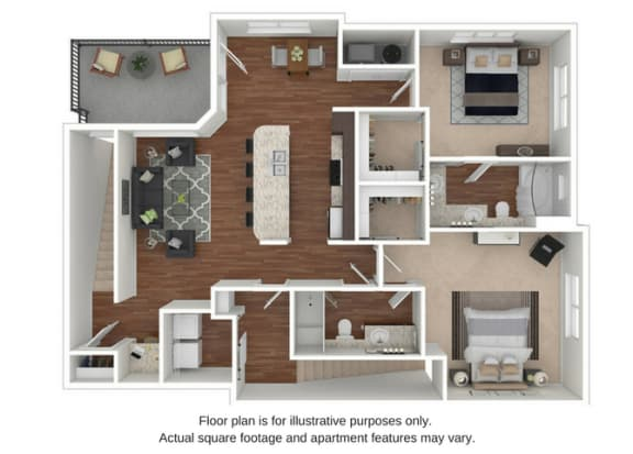 Floor Plan  B8 Floor Plan at Retreat at the Flatirons