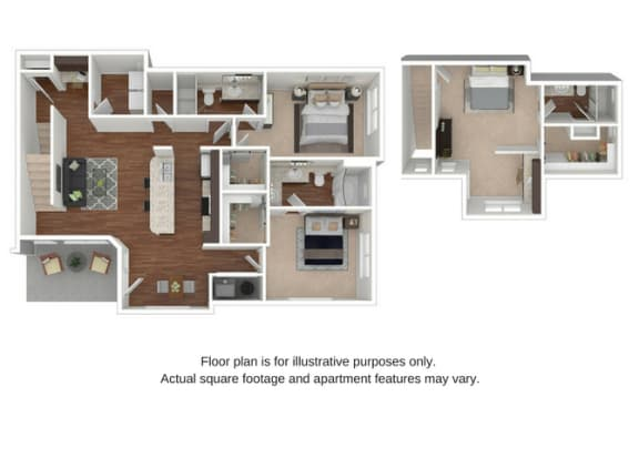 Floor Plan  C1 Floor Plan at Retreat at the Flatirons