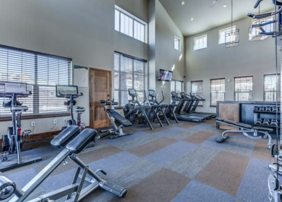 Gym at Retreat at the Flatirons, Broomfield