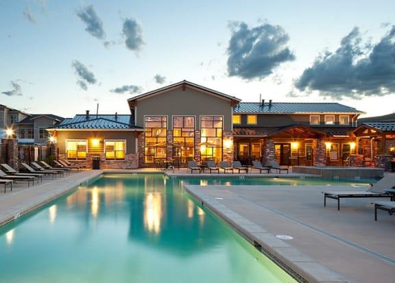 Swimming Pool at Retreat at the Flatirons, Colorado