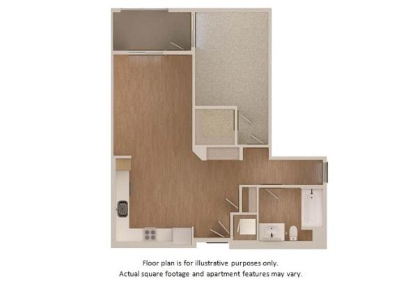 Floor Plan  Floor plan at Malden Station by Windsor, Fullerton, CA, 92832