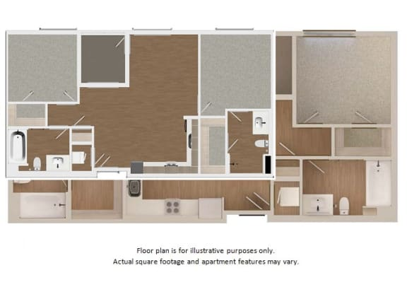 Floor Plan  Floor plan at Malden Station by Windsor, Fullerton