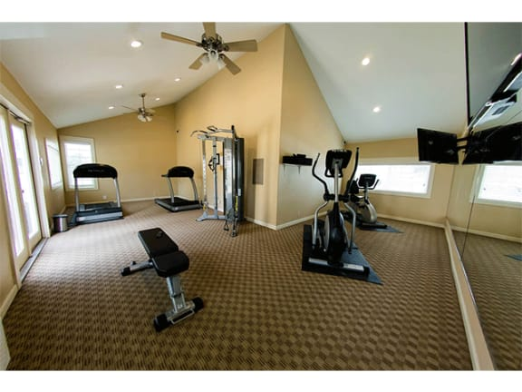 Fitness Center at Aviare Place
