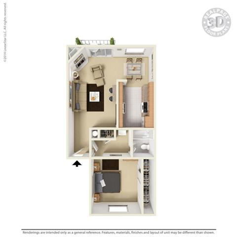 Floor Plan at Aviare Place, Midland, 79705