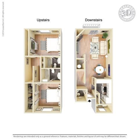Floor Plan at Hawthorne House, Midland, Texas