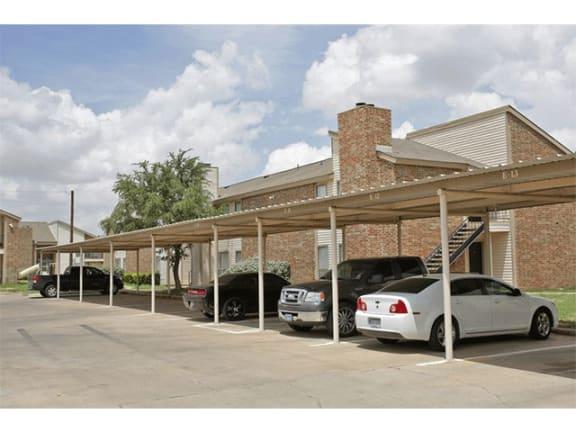 Covered Parking at Park at Caldera, Texas