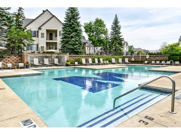 Pool at Orion MainStreet, Michigan, 48103