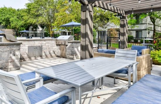Outdoor Kitchen and BBQ area  at Orion North Star