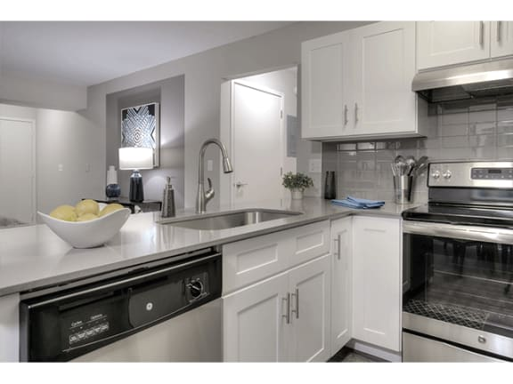 Fully Equipped Kitchen at Orion North Star