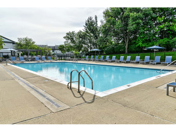 Swimming Pool with Sundeck at Orion North Star