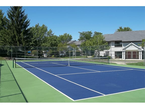 Tennis Court at Orion North Star