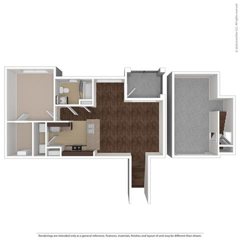 Floor Plan at Orion McCord Park, Little Elm, 75068