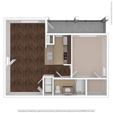 Floor Plan at Orion McCord Park, Little Elm