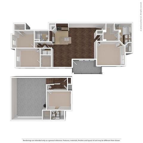 Floor Plan at Orion McCord Park, Little Elm, TX