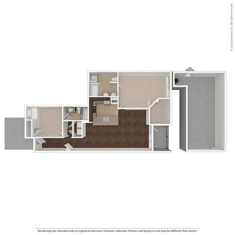 Floor Plan at Orion McCord Park, Little Elm, Texas
