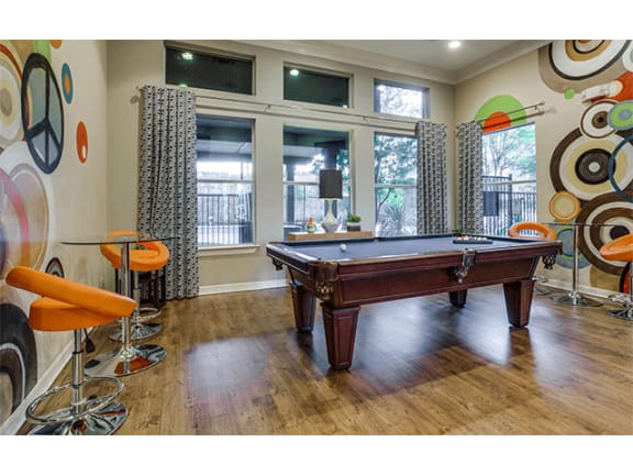 Pool Table at Orion McKinney