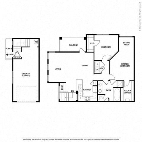 Floor Plan at Orion McKinney, McKinney, 75070