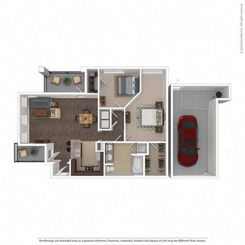 Floor Plan at Orion McKinney, McKinney