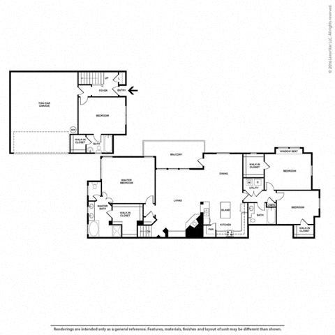 Floor Plan at Orion McKinney, Texas