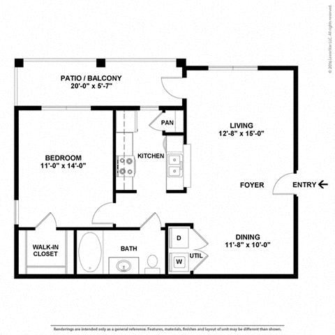Floor Plan at Orion Prosper, Prosper