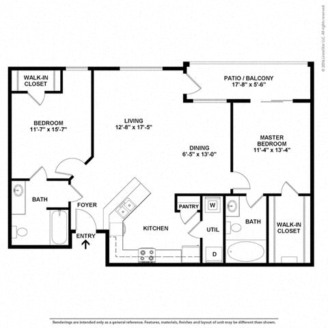 Floor Plan at Orion Prosper, Prosper, TX, 75078