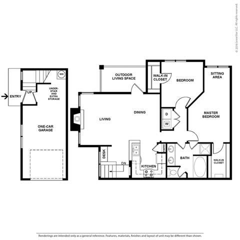 Floor Plan at Orion Prosper Lakes, Texas, 75078