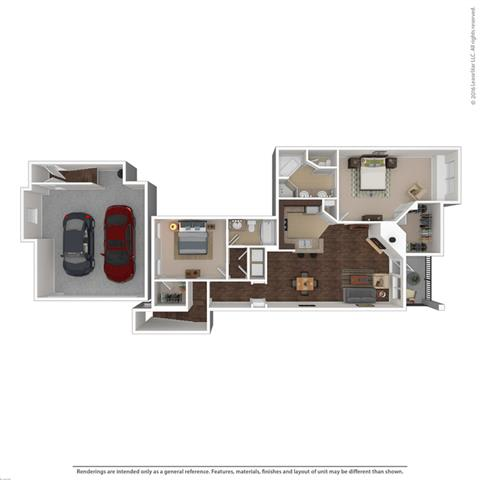 Floor Plan at Orion Prosper Lakes, Prosper, Texas