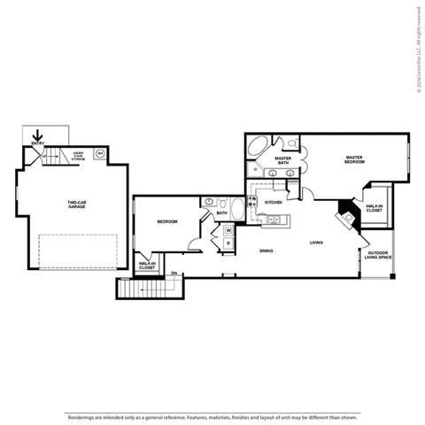 Floor Plan at Orion Prosper Lakes, Texas