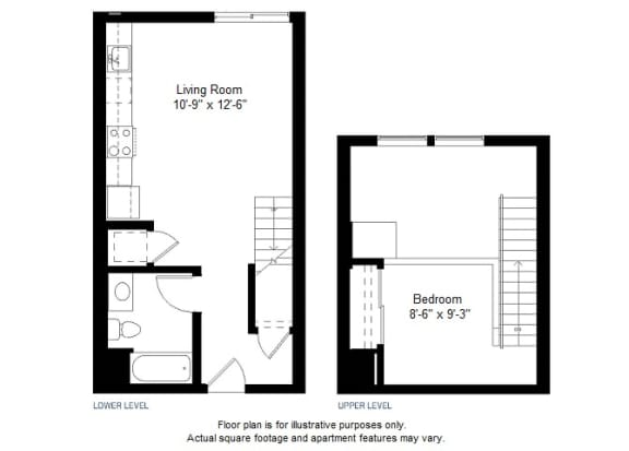 Floor Plan  A2 floor plan at Windsor at Dogpatch, California, 94107