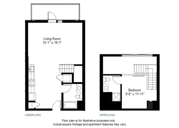 Floor Plan  A6 floor plan at Windsor at Dogpatch, 2660 3rd Street, 94107