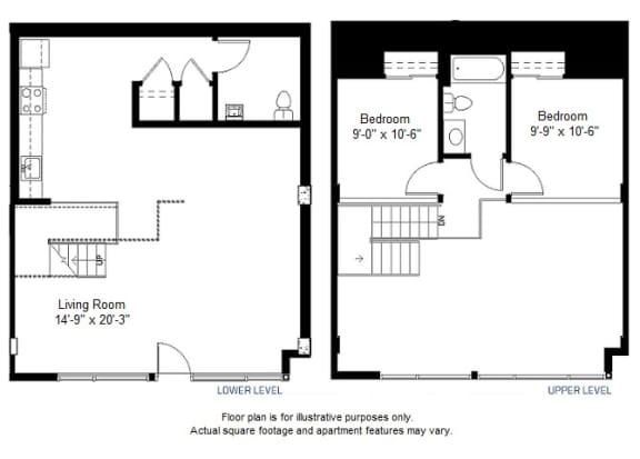 Floor Plan  B floor plan, opens a dialog