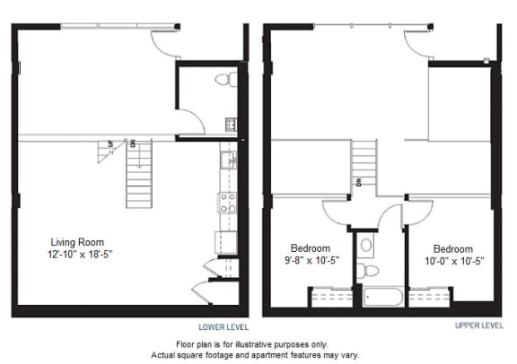 Floor Plan  B1 floor plan at Windsor at Dogpatch, CA, 94107
