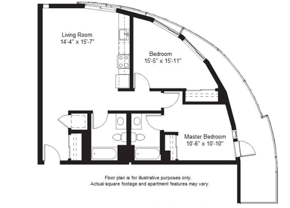 Floor Plan  B10 floor plan at Windsor at Dogpatch, California, 94107