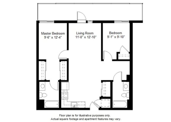 Floor Plan  B11 Floor Plan Floor Plan at Windsor at Dogpatch
