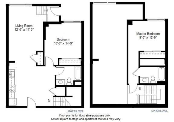 Floor Plan  B14 floor plan at Windsor at Dogpatch, California, 94107