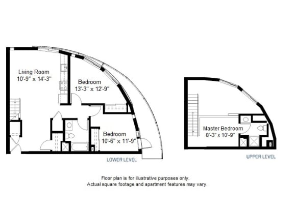 Floor Plan  C2 floor plan at Windsor at Dogpatch, CA, 94107