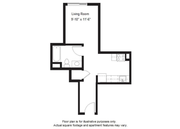 Floor Plan  S11 floor plan at Windsor at Dogpatch, CA, 94107