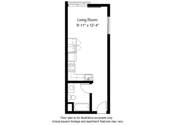 Floor Plan  S4 floor plan at Windsor at Dogpatch, California, 94107