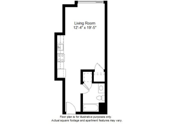 Floor Plan  S5 floor plan at Windsor at Dogpatch, 2660 3rd Street, 94107