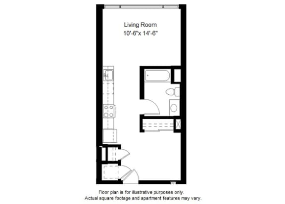 Floor Plan  S6 floor plans at Windsor at Dogpatch, San Francisco, California