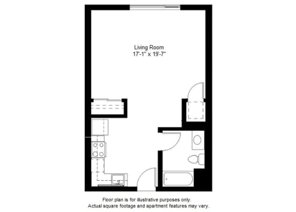 Updated S8 floor plan at Windsor at Dogpatch, CA, 94107
