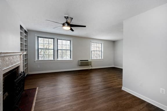 Renovated 1 bedroom with fireplace at Connecticut Plaza in Washington, DC