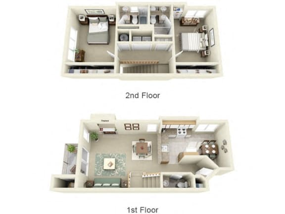 Montair at Somerset Hill|Townhouse|2Bed/2.5Bath