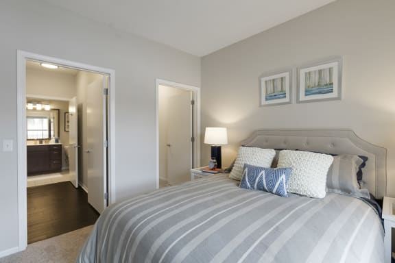 Bedroom With Walk-In Closet at Waterstone Place, Minnesota