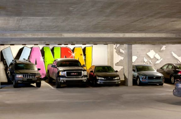 Parking Garage at CityWay, Indianapolis, IN, 46204
