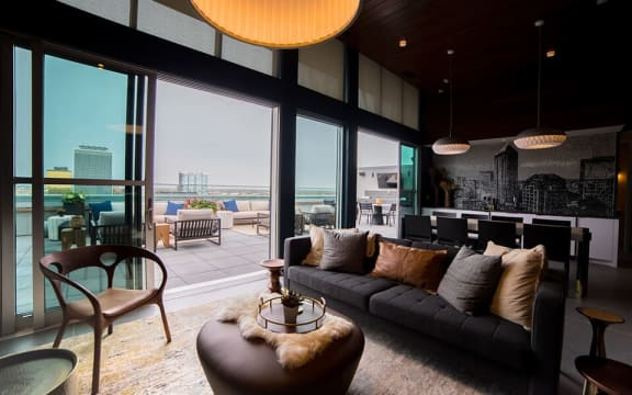 Rooftop Lounge at CityWay, Indianapolis, Indiana