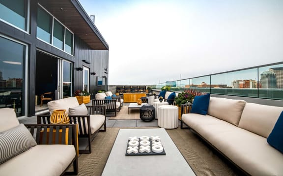 Rooftop Clubhouse  at CityWay, Indianapolis