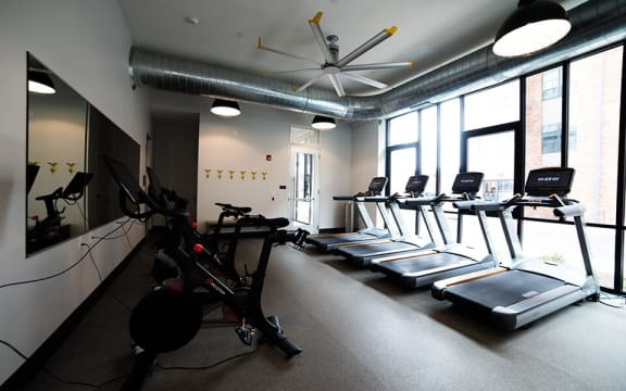 Cardio Machines In Gym at CityWay, Indianapolis, 46204